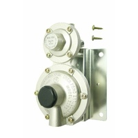 "Regulator 2 Stage 250 Mj/Hr 1/4"" X 3/8"" With Bracket"