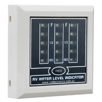 RV Electronics Triple Tank Water Indicator (White)