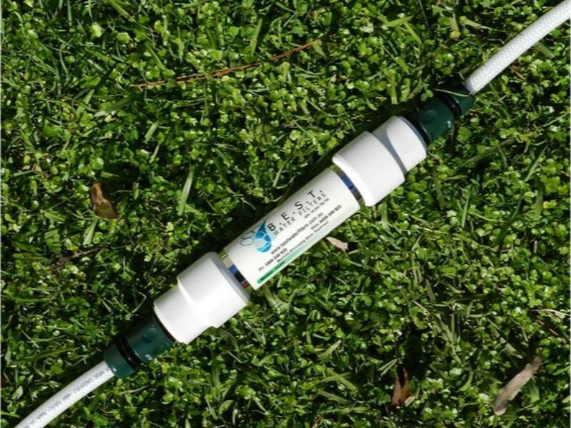 B.E.S.T. Inline Water Filter with Hose Fittings