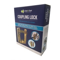 Trailer Coupling Lock with Padlock