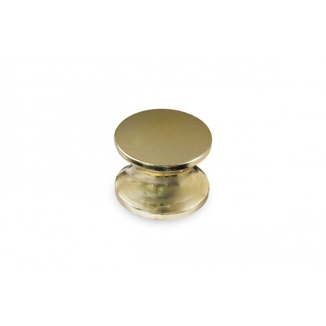 Push Button Knob 16mm-19mm (Brass)
