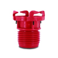 Valterra E-Z Threaded Straight Hose Adapter