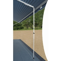 Carefree Centre Rafter With Ground Support and Awning Support Cradle (White)