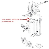 Trail-A-Mate Outer Shaft Cover