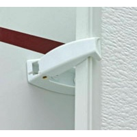 Baggage Door Catch - White (2 Pack)