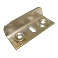 Angle Striker Plate (Nickel-Plated)