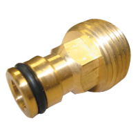 "Neta 1 1/16"" 12mm Brass Click-On-Adaptor"