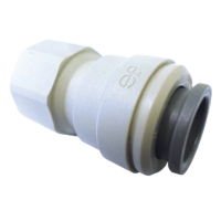 "JG Female Plastic Connector for 12mm x 3/8"" FBSP"