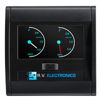 RV Electronics LCD Dual Tank Water Level Indicator