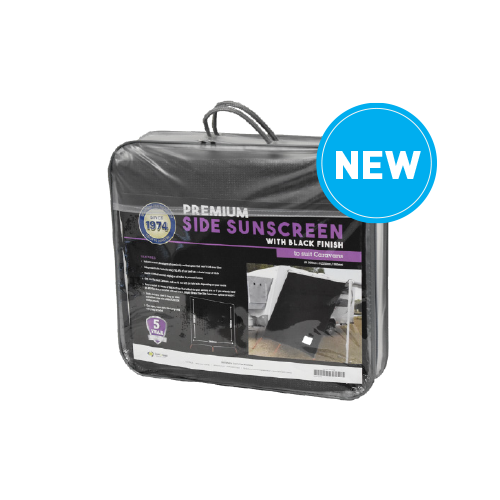 Premium Side Sunscreen (Black)